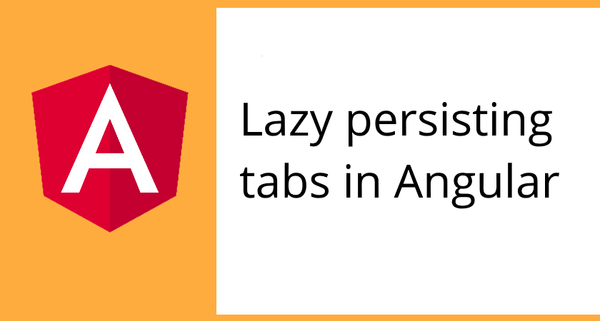 Angular 2: my solution for dynamic tabs